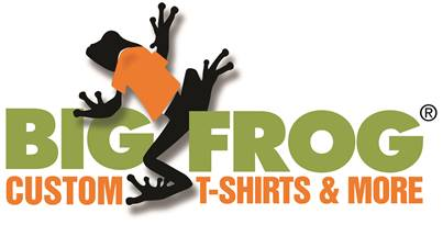 Big Frog Custom T-Shirts, Inc. Logo