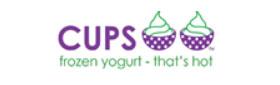 CUPS Frozen Yogurt Logo