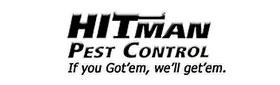 Hitman Pest Control Logo